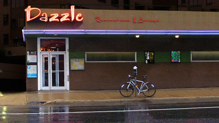 Dazzle Restaurant and Lounge, located on 930 Lincoln Street Denver CO.