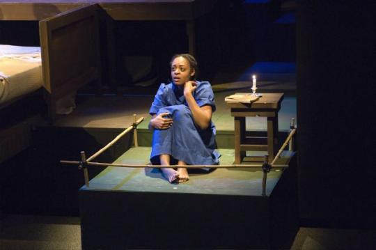 The Diary of Anne Frank , Buffalo State Theatre Department.  Photo: Bruce Fox