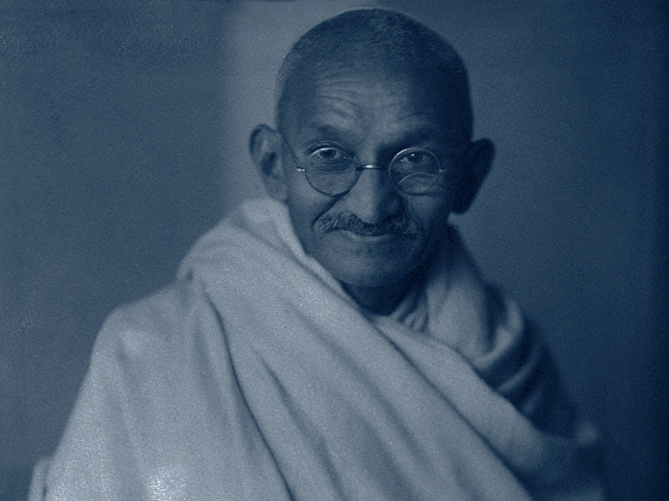 MAHATMA GANDHI - Mahatma Gandhi prevailed against a fully militarized world power by practicing a kind of activism not harming self or others. Like Martin Luther King Jr., he believed love to be the highest power and refrained from fear-based action. The way I see it, Gandhi's famous words,