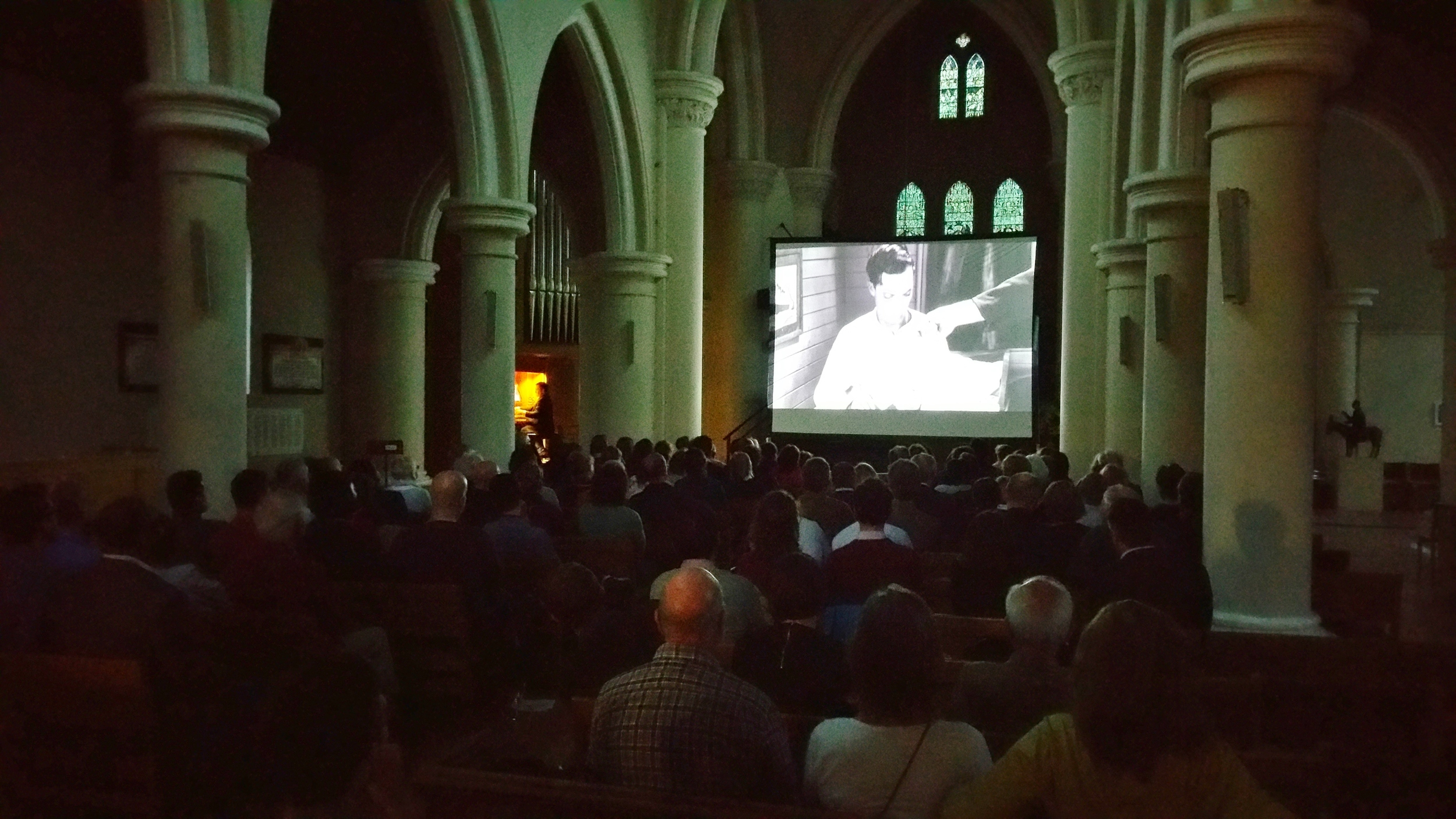Silent Film at St John's Notting Hill: Steamboat Bill Jr in 2015