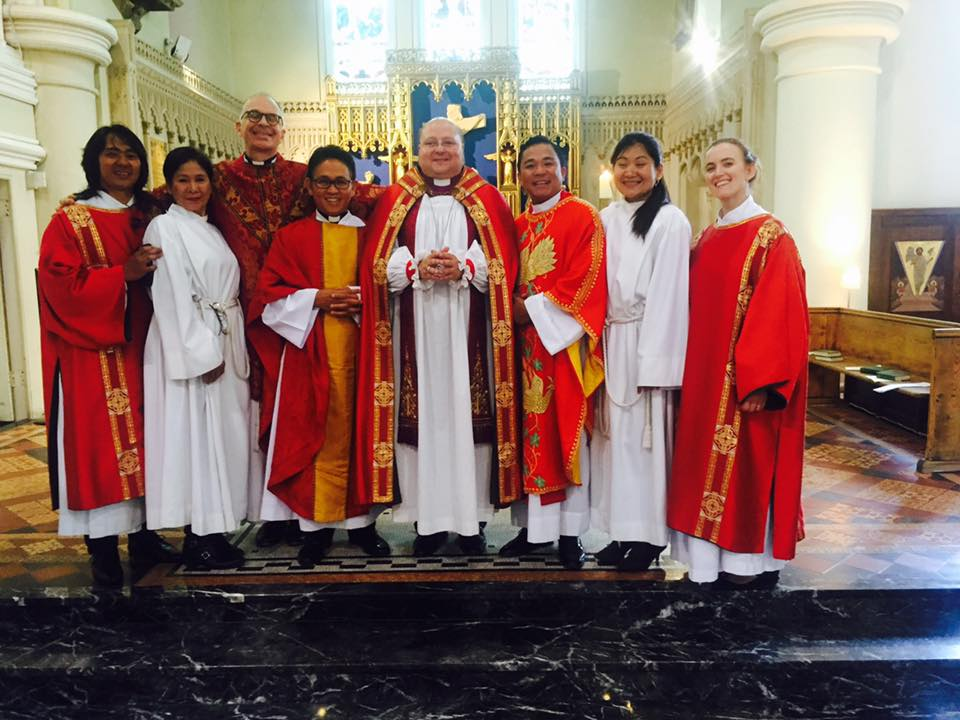 Bishop of Madrid Visit July 2016