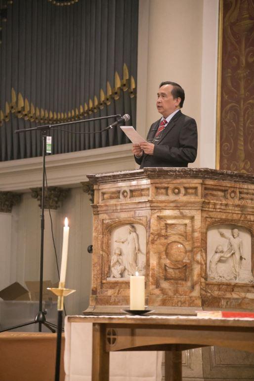 Philippine Ambassador visits Fil Chap on Ascension Day