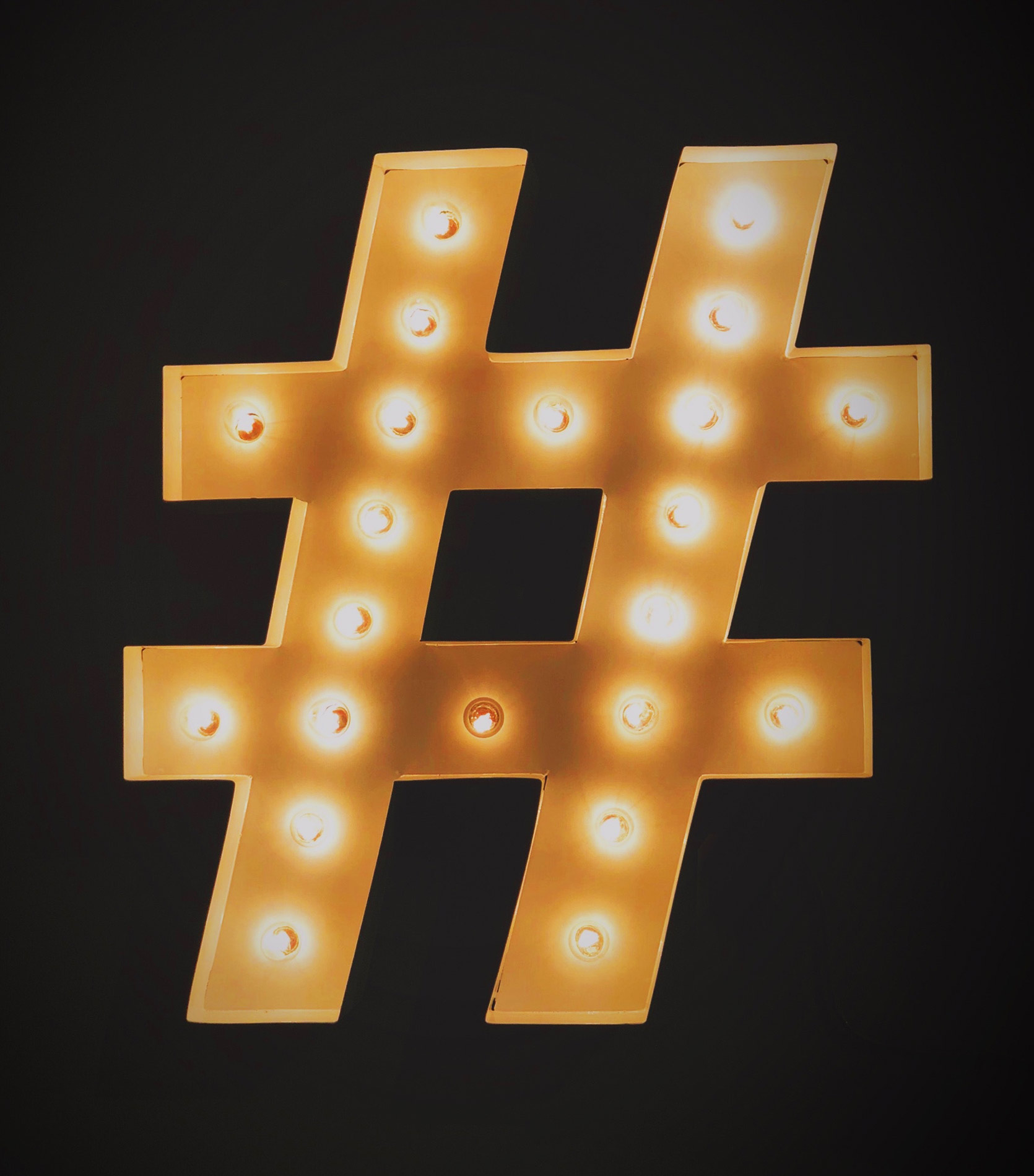 #Hashtagging is a simple yet powerful hack to get your content indexed.