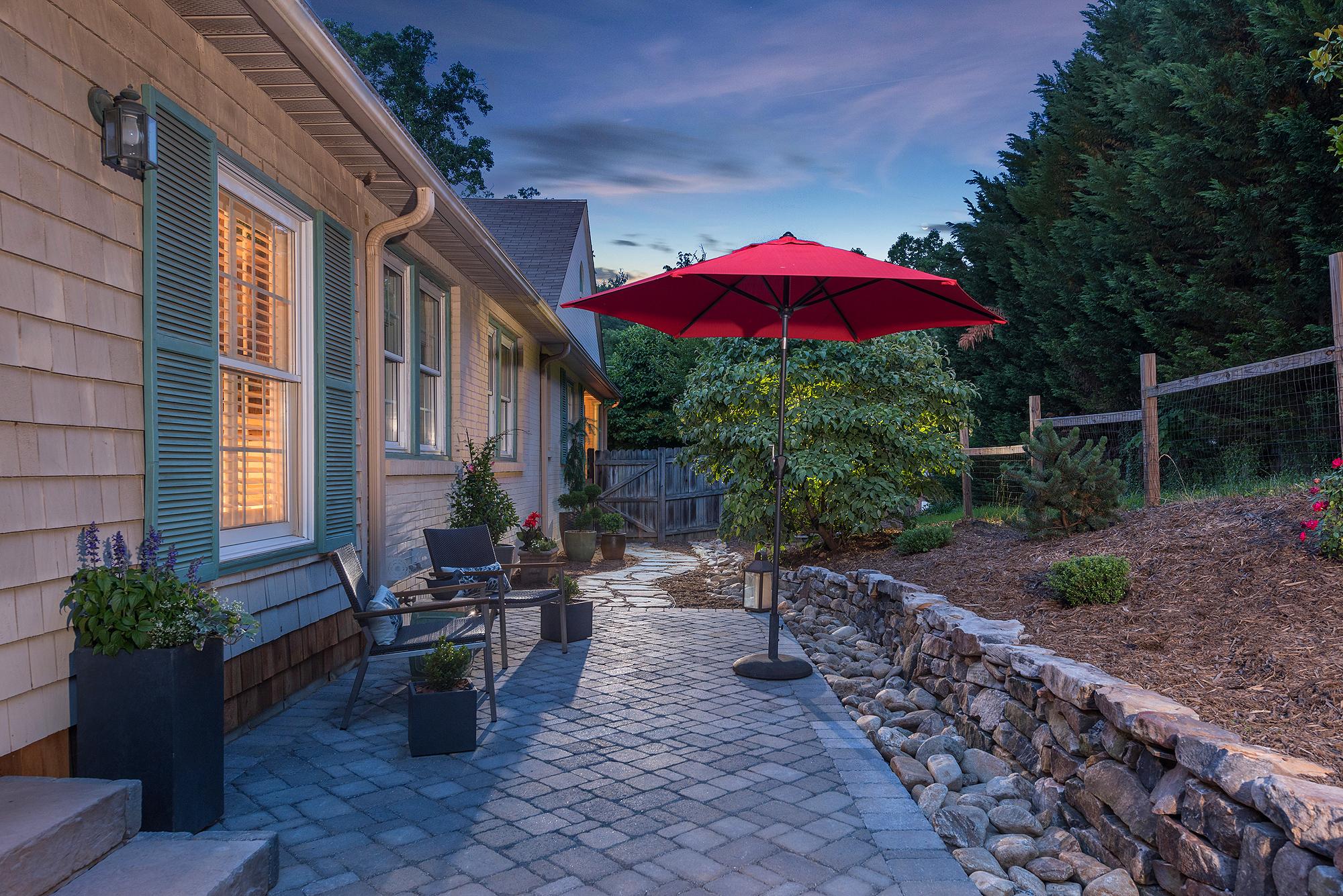 hardscape paver patio