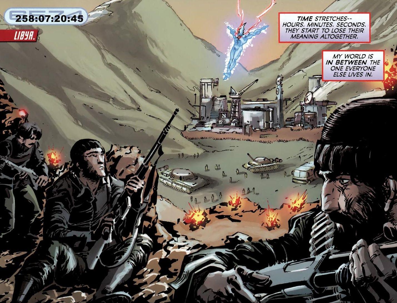 Captain Atom #3 (J.T. Krul, Freddie Williams II)