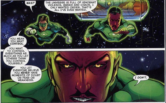 Green Lantern #5 (Geoff Johns, Doug Mahnke)