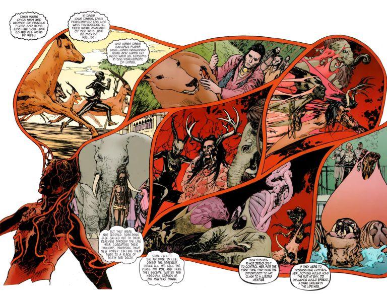 Animal Man #4 (Jeff Lemire, Travel Foreman)