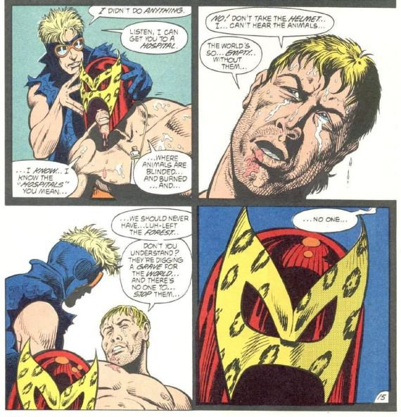 Animal Man #4 by Grant Morrison and Chas Truog
