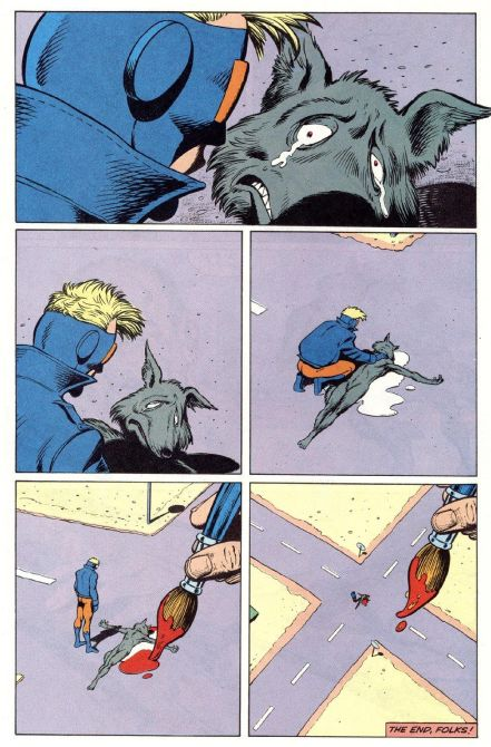 Animal Man #5 by Grant Morrison and Chas Truog