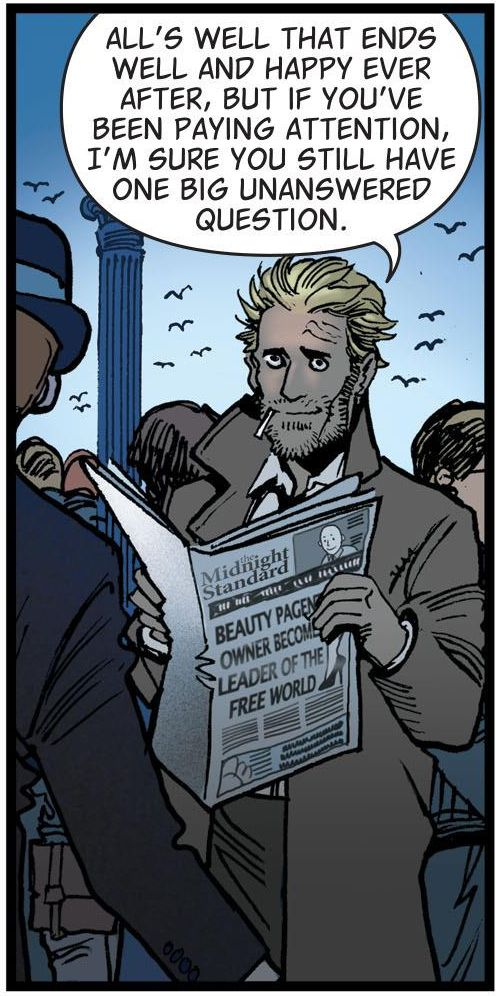 The Hellblazer: Rebirth by Simon Oliver and Moritat (2016)
