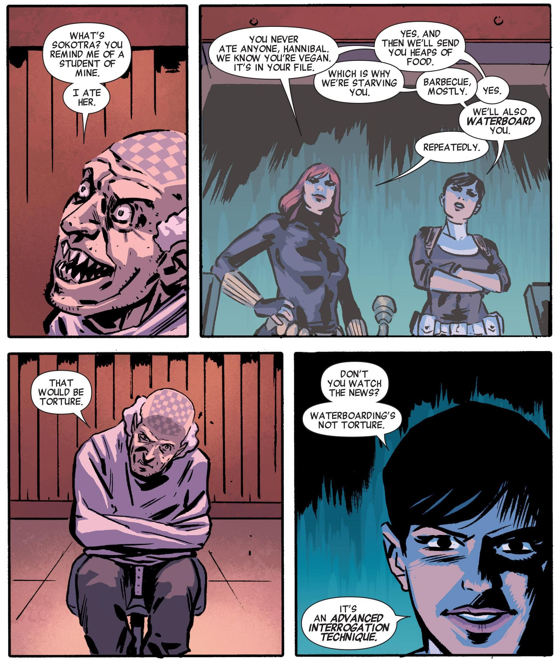 Secret Avengers #5 by Ales Kot and Michael Walsh (2014)