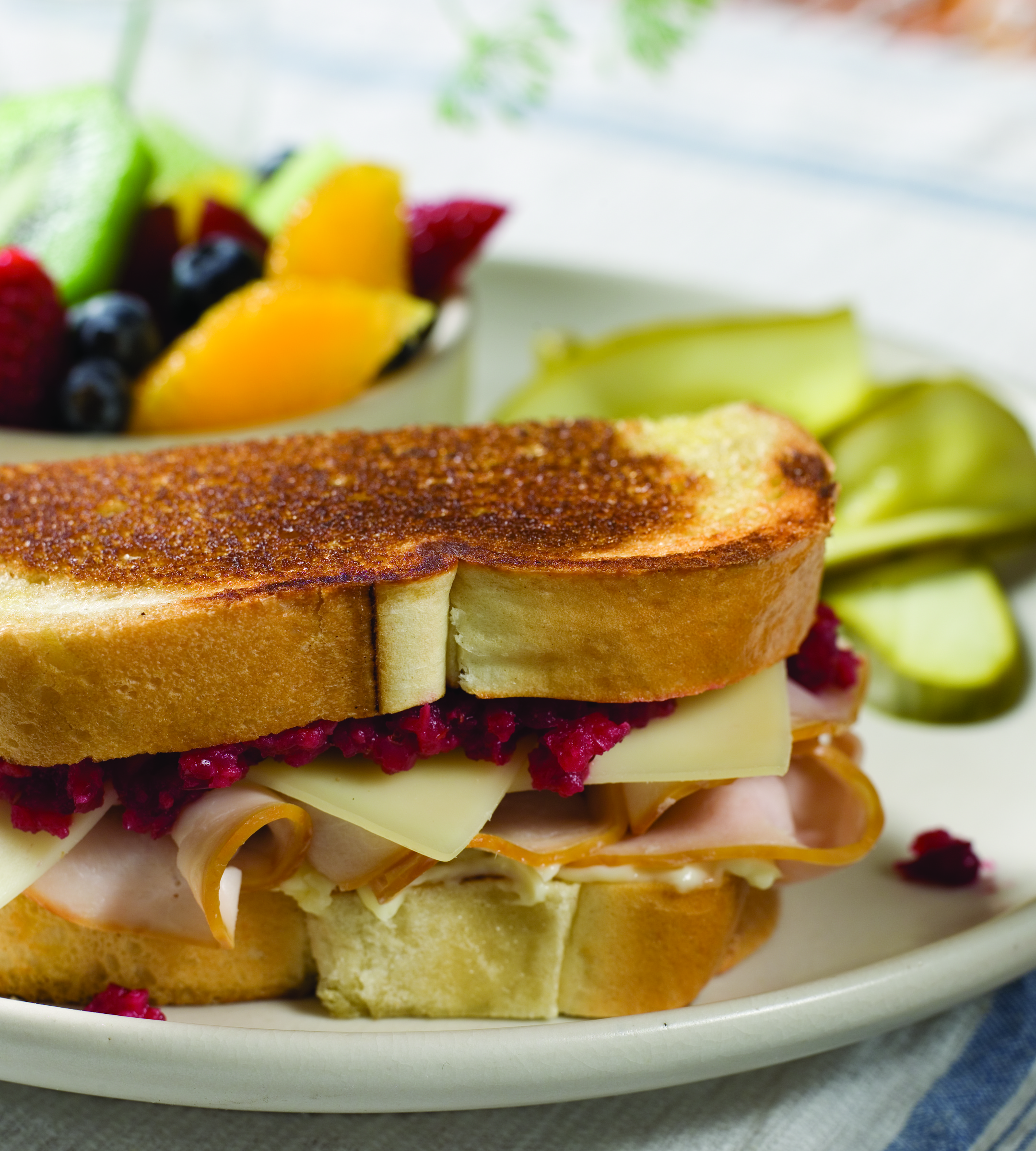 Cranberry Turkey Sandwich