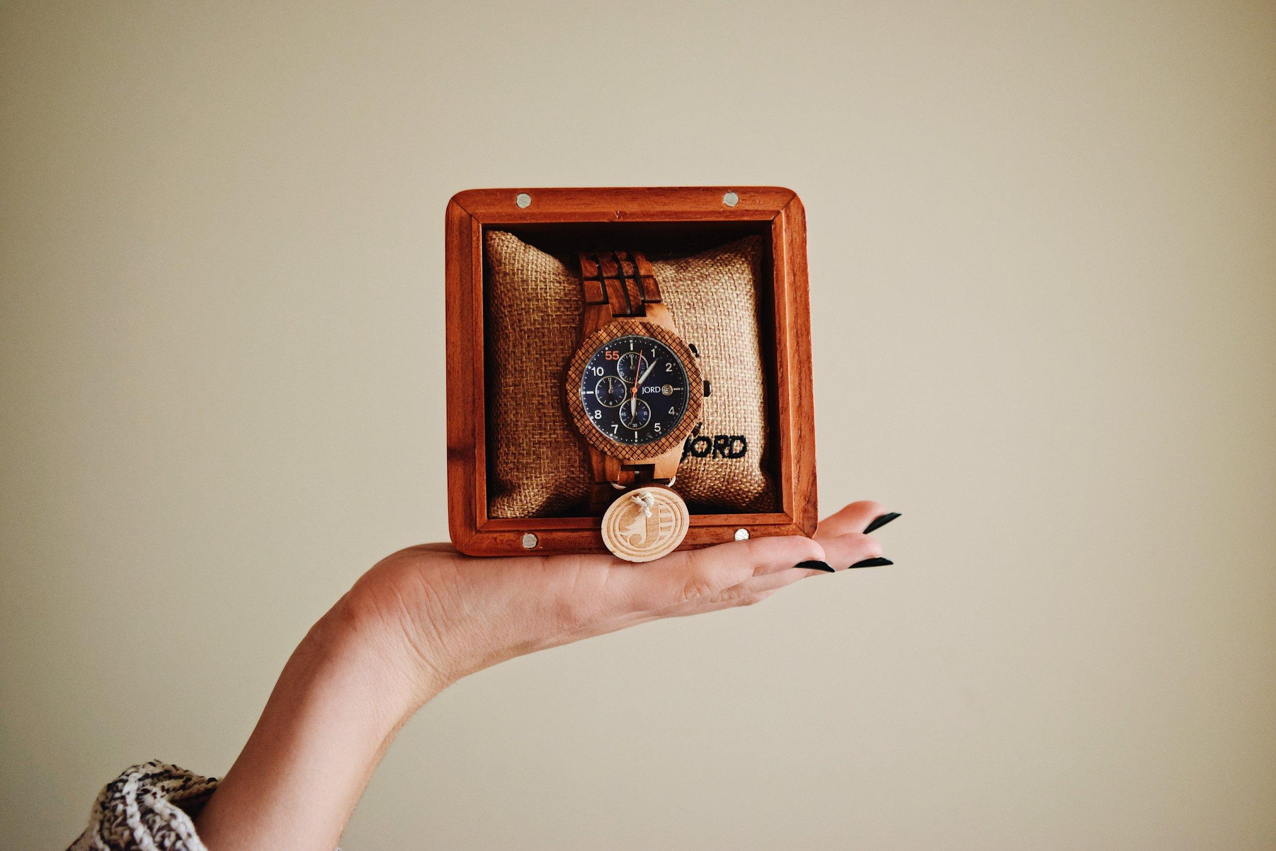 Unique watch for Valentine's Day