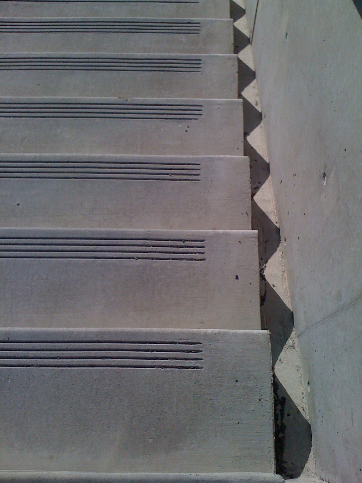 stairs at SAM sculpture park