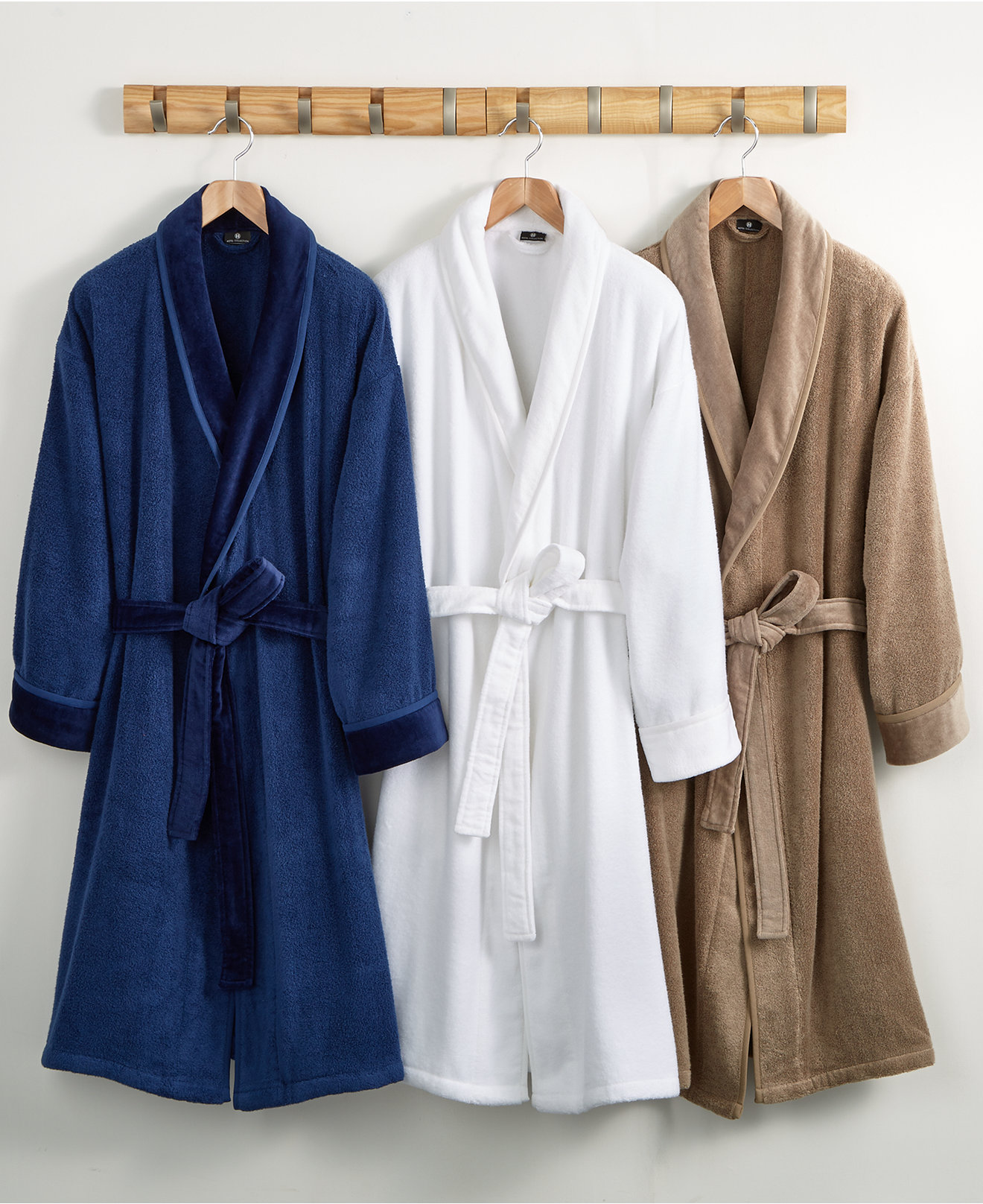 Hotel Collection Velour Luxury Robe