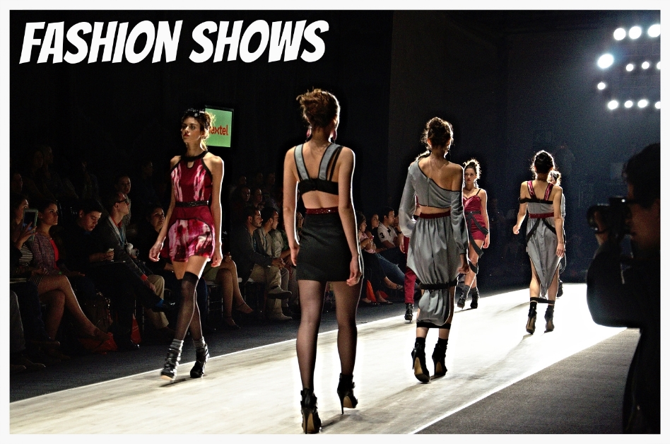 Fashion Show Music - Model on the runway