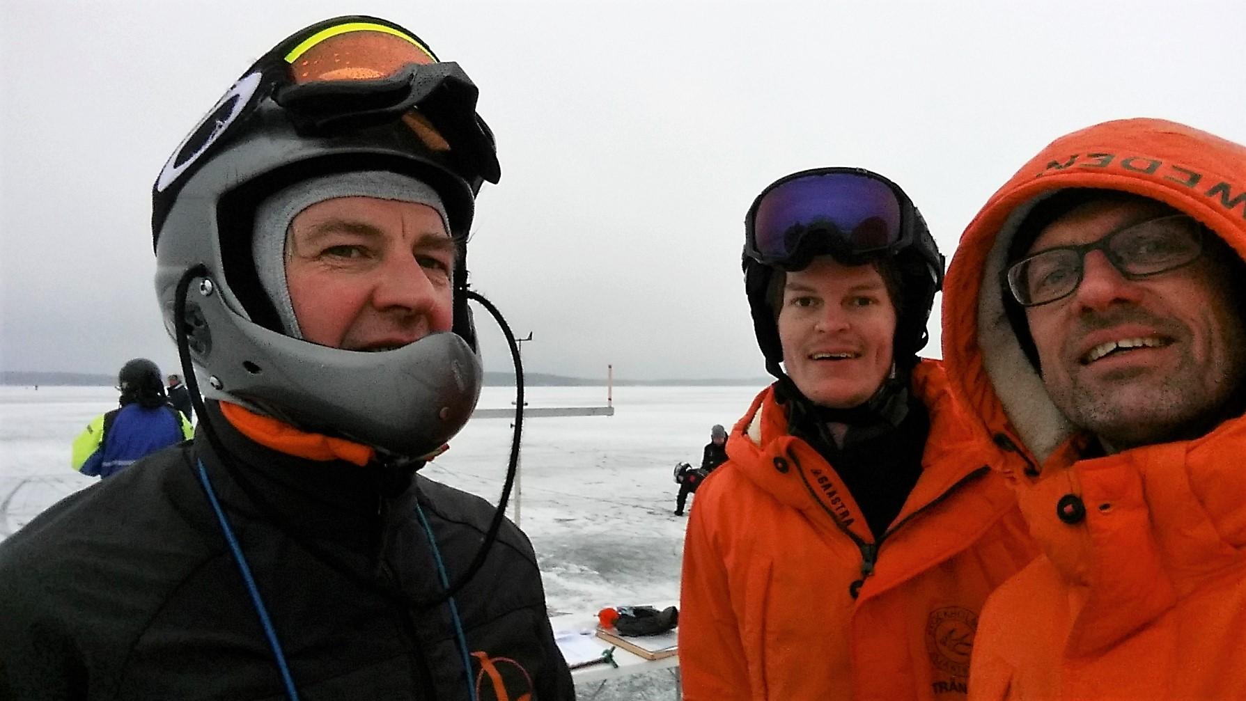 S-8 Fredrik Lönergren, S-794 Oscar Wersäll and S-896 Peter Witt (photo: Peter Witt)