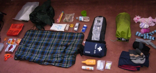 Emergency kit. Much, much more than just a first aid kit.