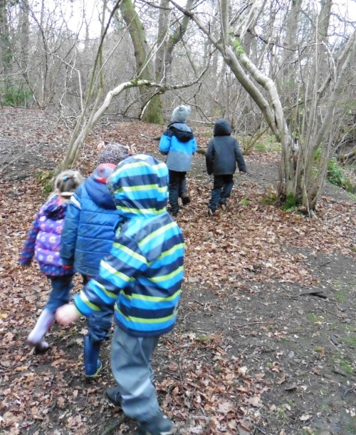 EXPLORE child led learning with Forest Schools