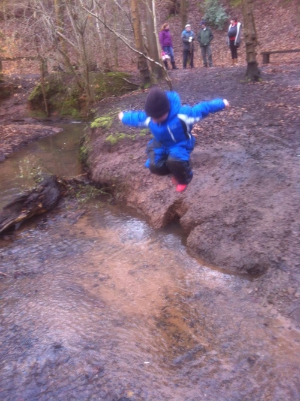 Come and take a splash in the Dingle stream!