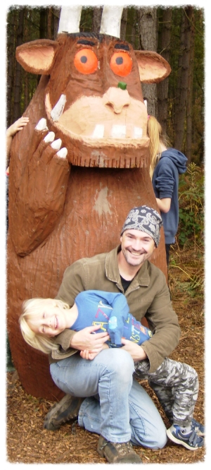 Everyone loves the Gruffalo wherever he goes!