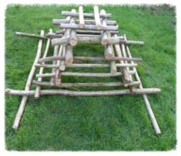 MATHS - construction with sticks