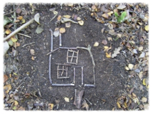 ART - Drawing with natural resources. Used to support a variety of projects. We can provide resources if your outdoor area is a bit bare.
