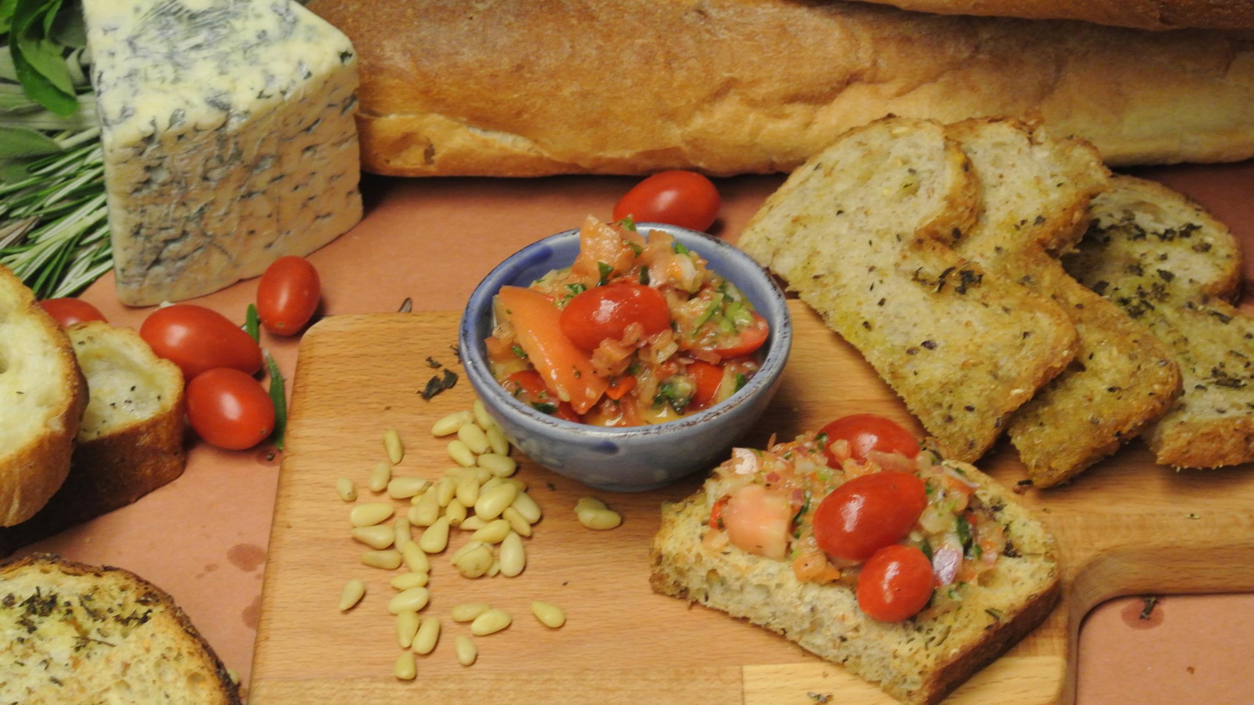bruschetta di pomodoro- an Italian classic