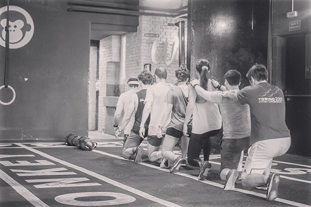 Warm up is not just getting the body ready, it's just getting the people ready. Some may have left their heads at work and others at home. Good coaches, like ours, have their own way on helping our members to be fully present!