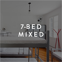 7 bed mixed room