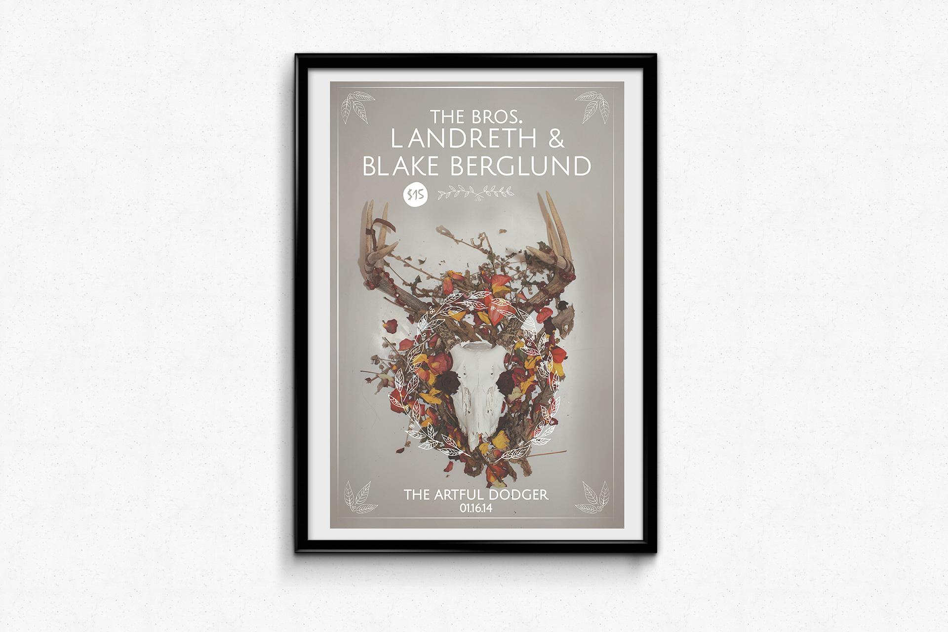The Bros. Landreth & Blake Burgland