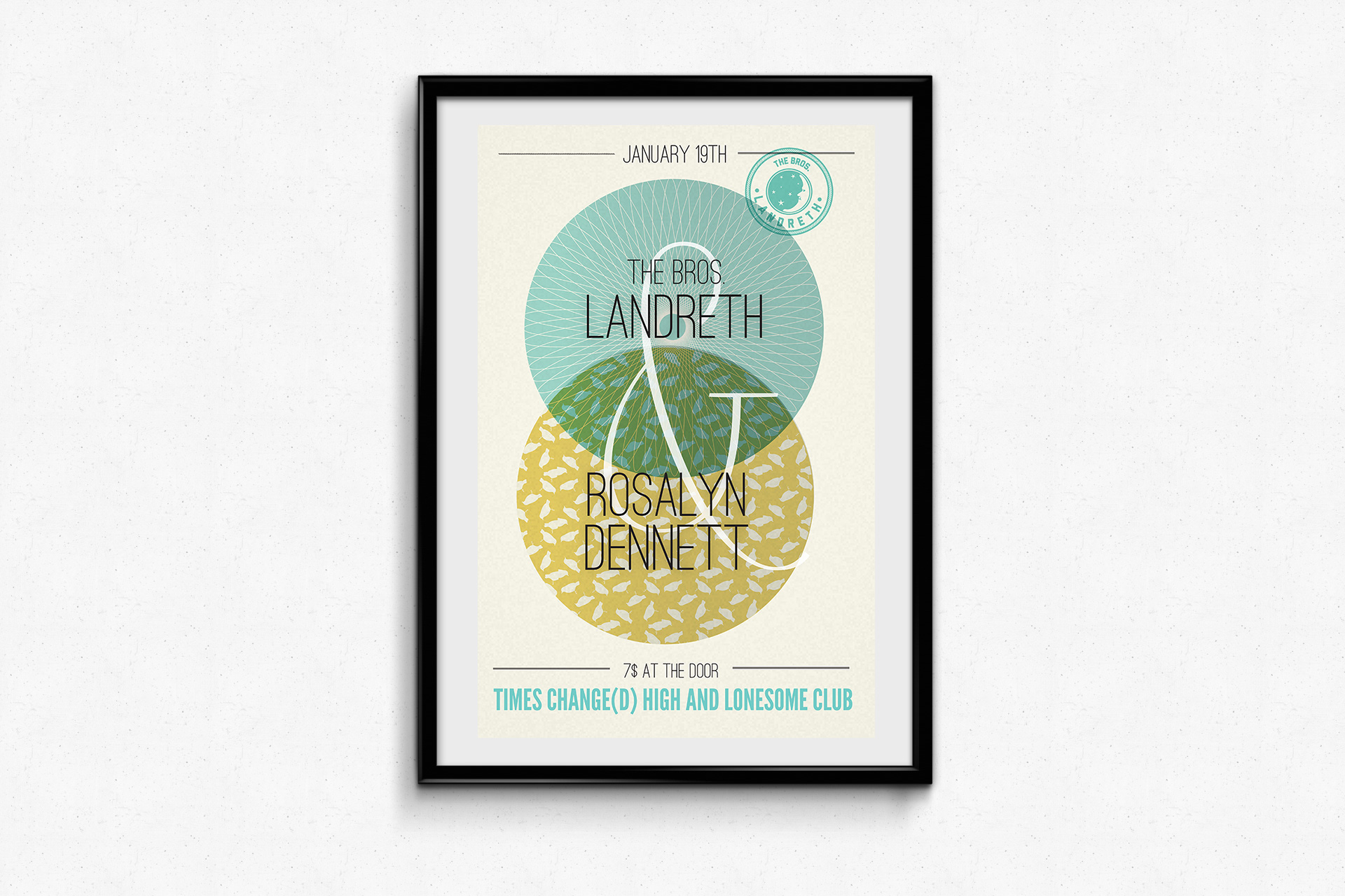 The Bros Landreth & Rosalyn Dennett