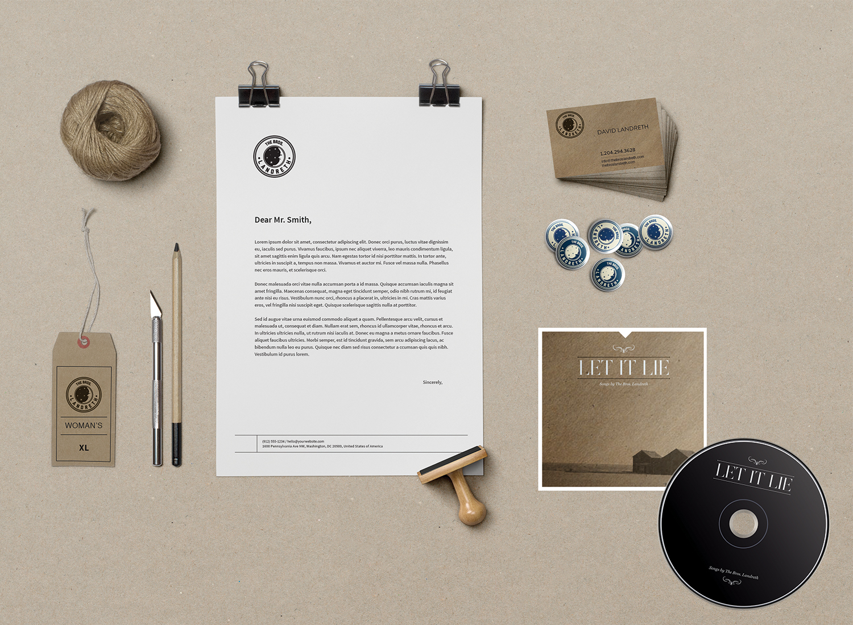 The Bros Landreth – Album art and Brand