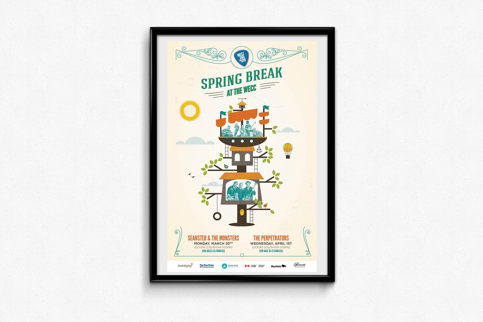 West End Cultural Centre – Spring Break