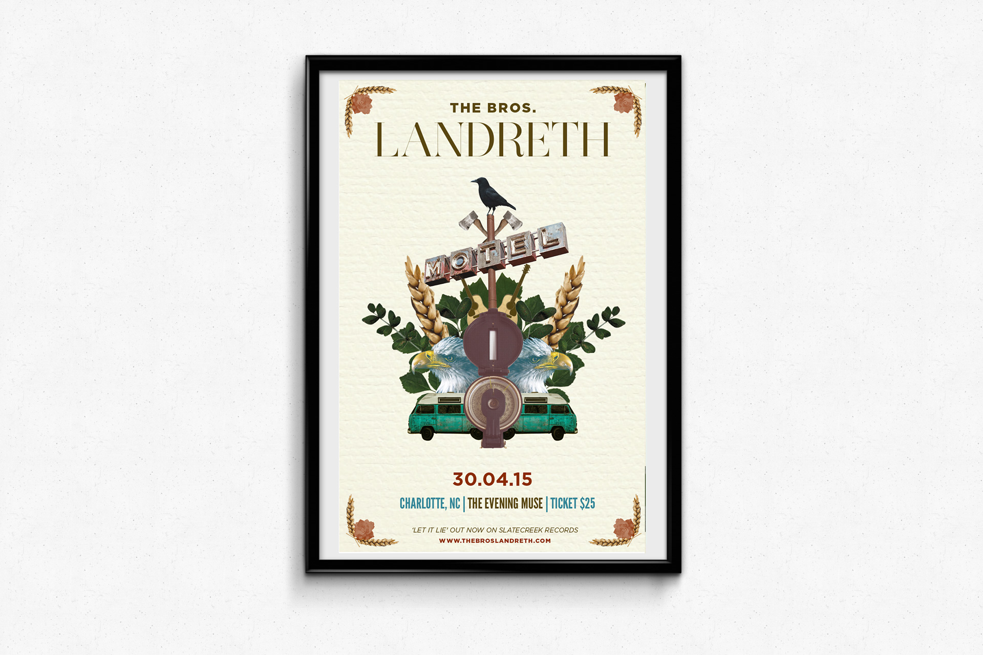The Bros. Landreth – Spring Tour
