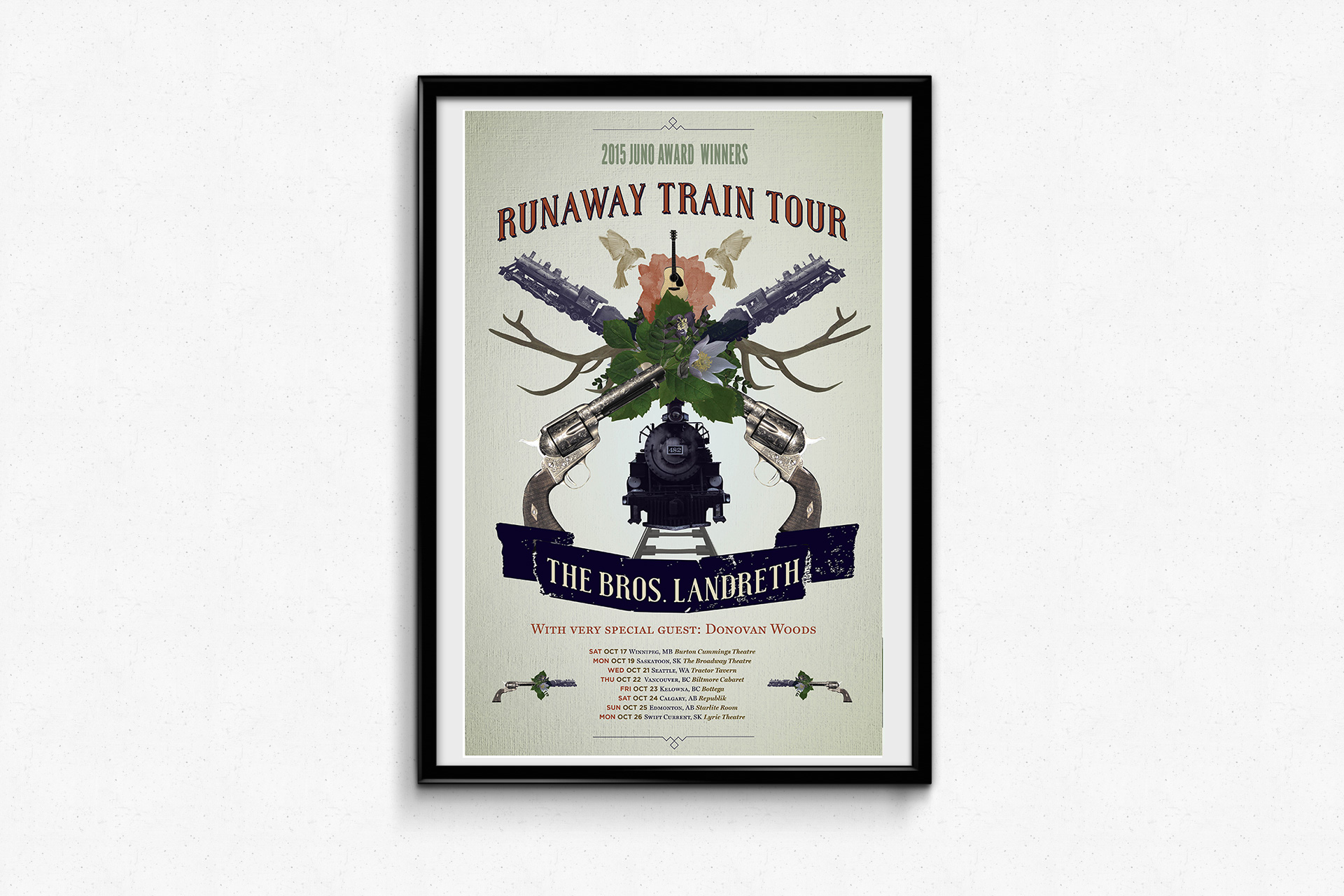 The Bros. Landreth – Runaway Train Tour