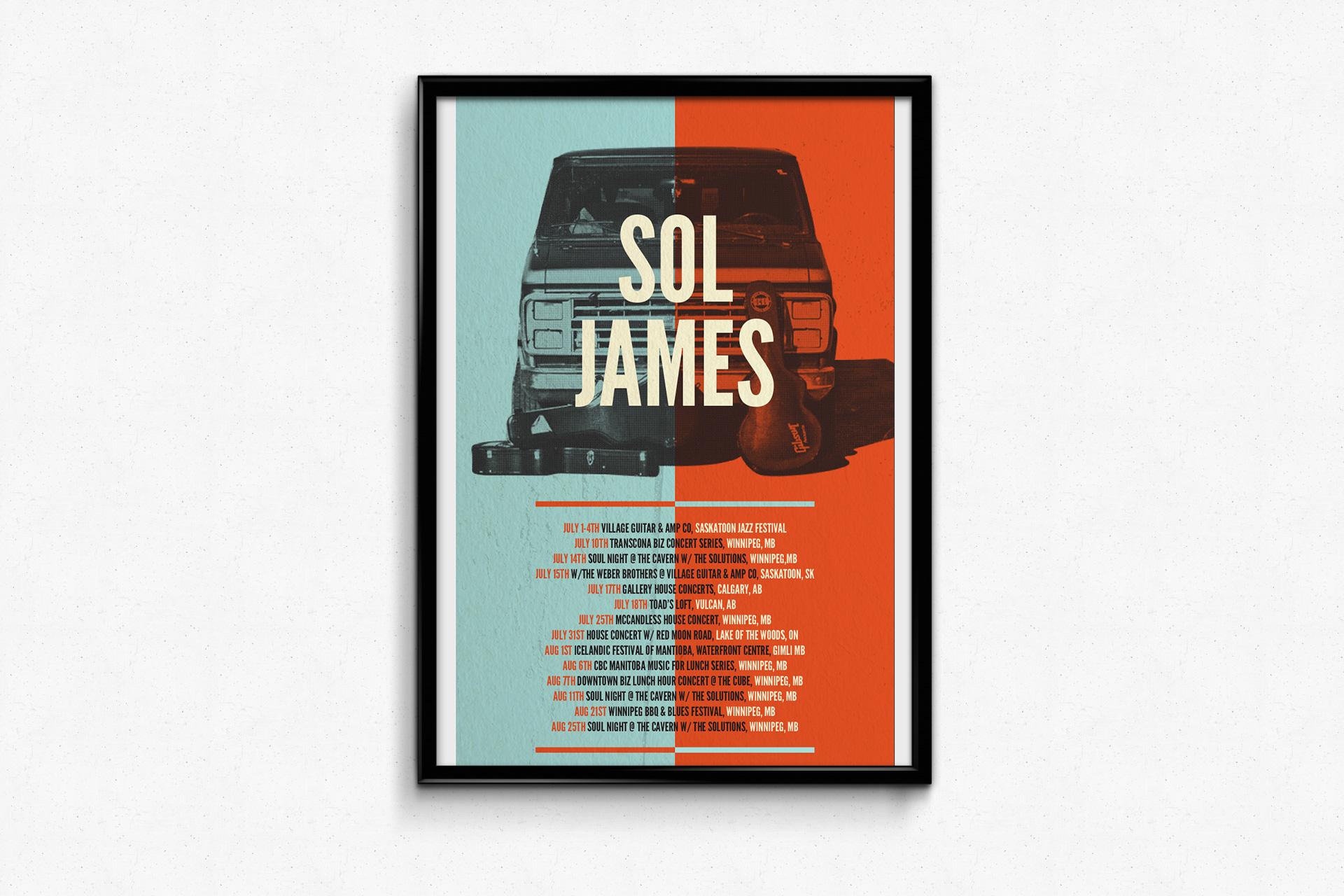 Sol James