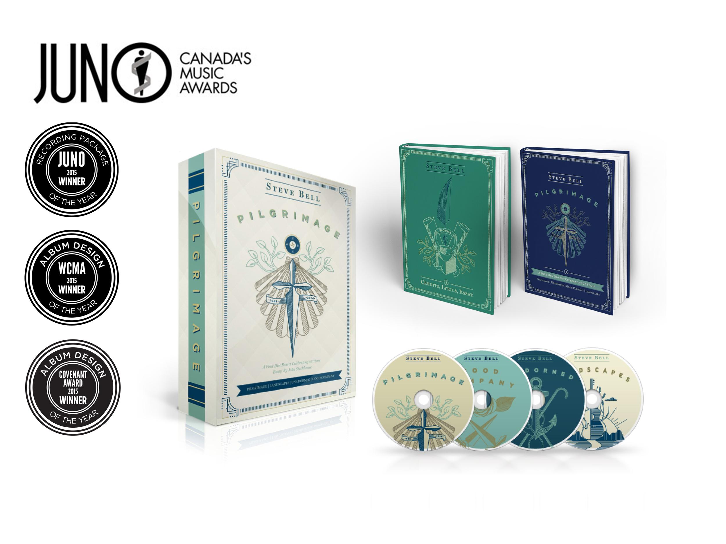 JUNO, WCMA & Covenant Award Winning, 4 Disc Box Set