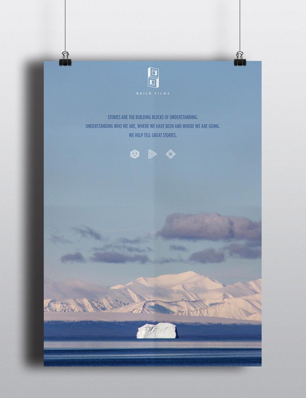 Build Films brochure, poster