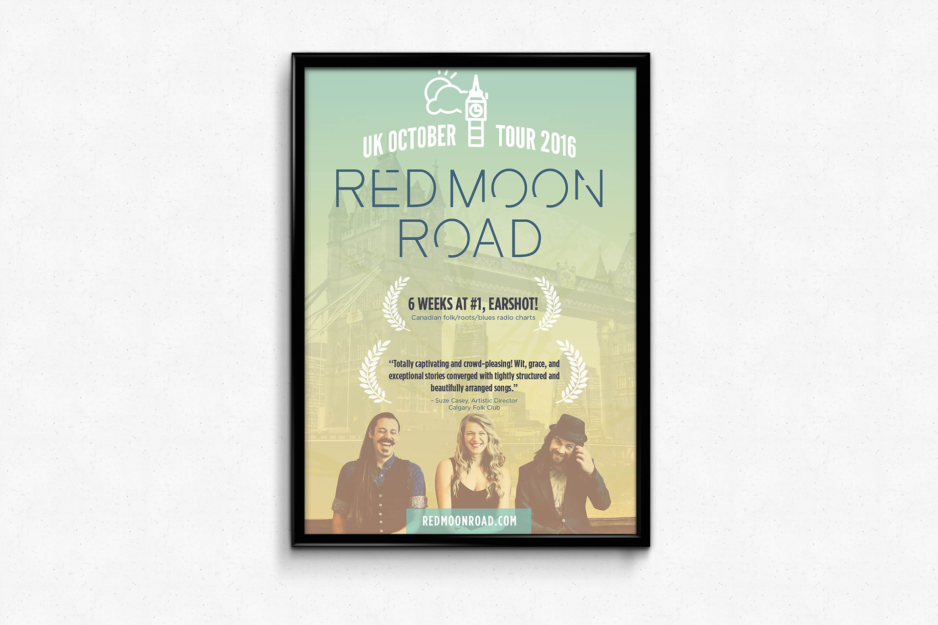 Red Moon Road — UK tour