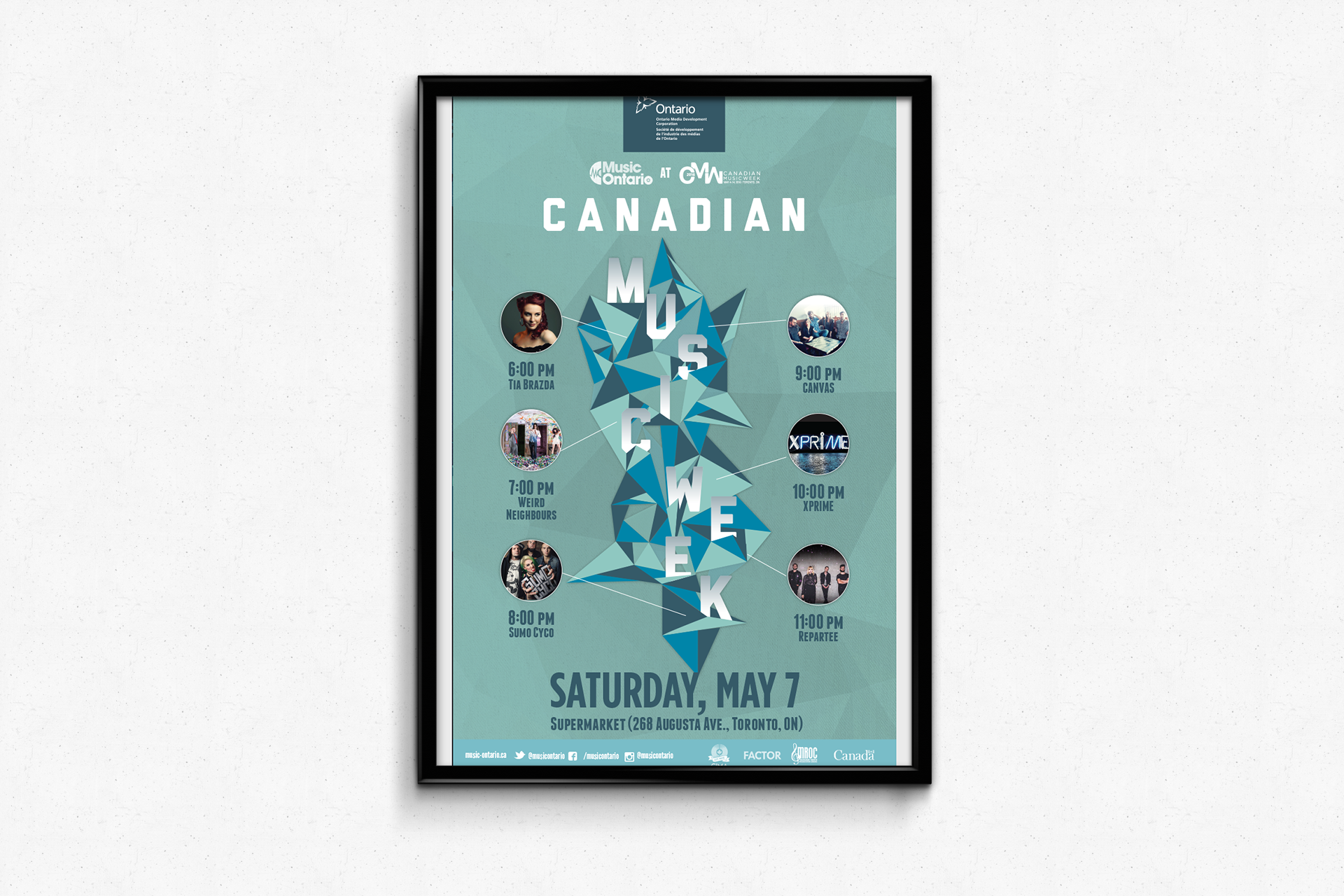 MusicOntario — Canadian Music Week