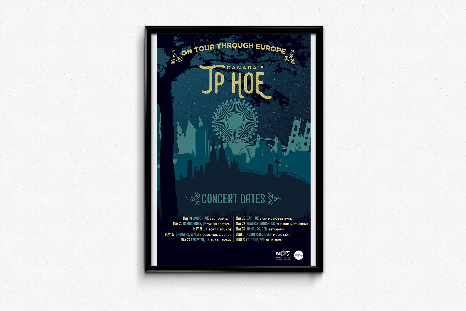 JP Hoe — Tour Through Europe