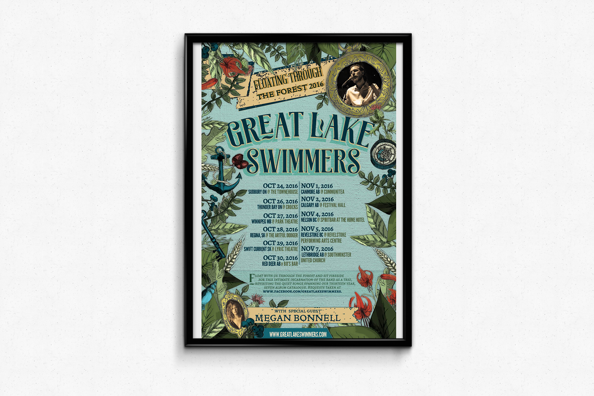 Great Lake Swimmers — Floating through the forest Tour