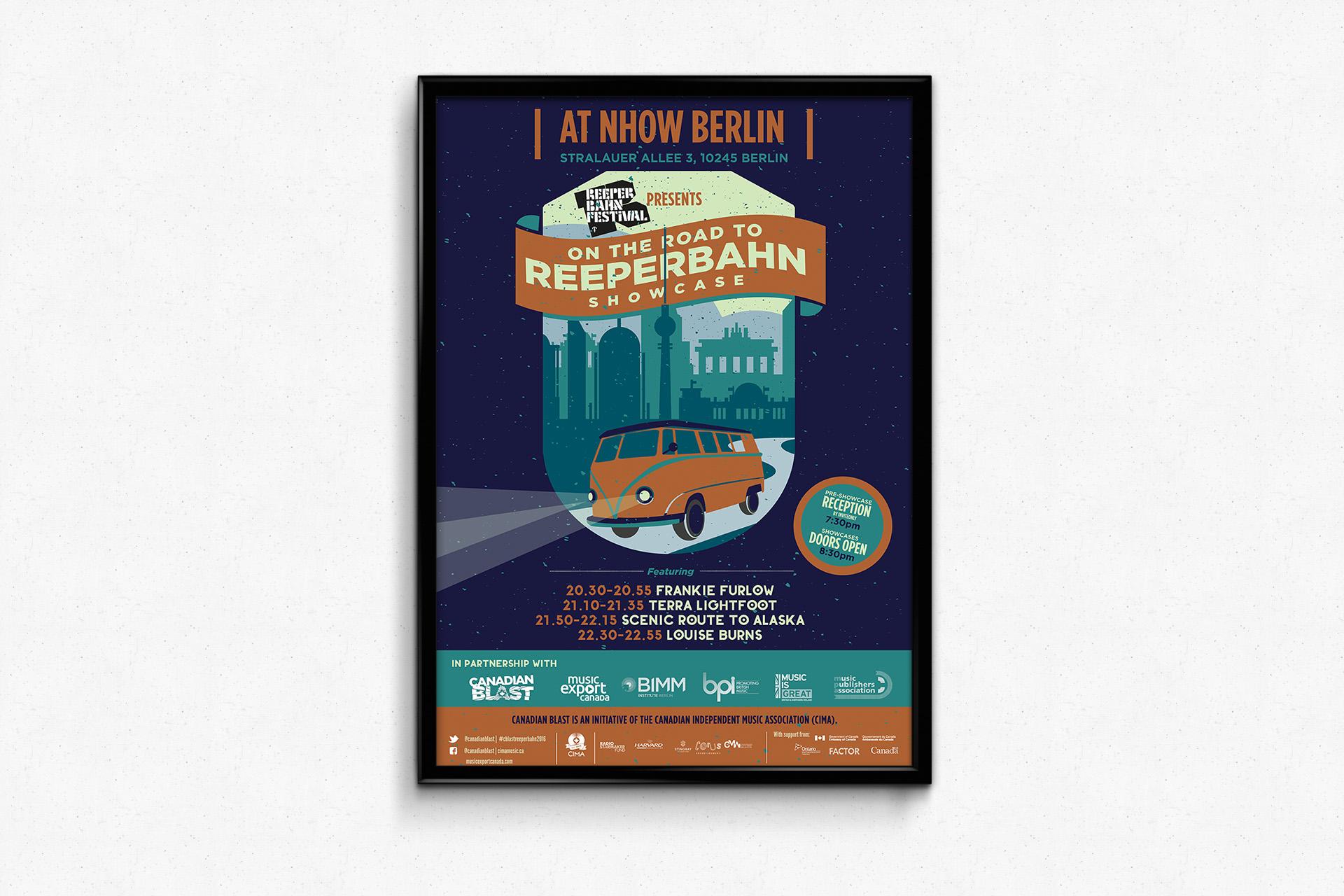 On The Road To Reeperbahn Showcase