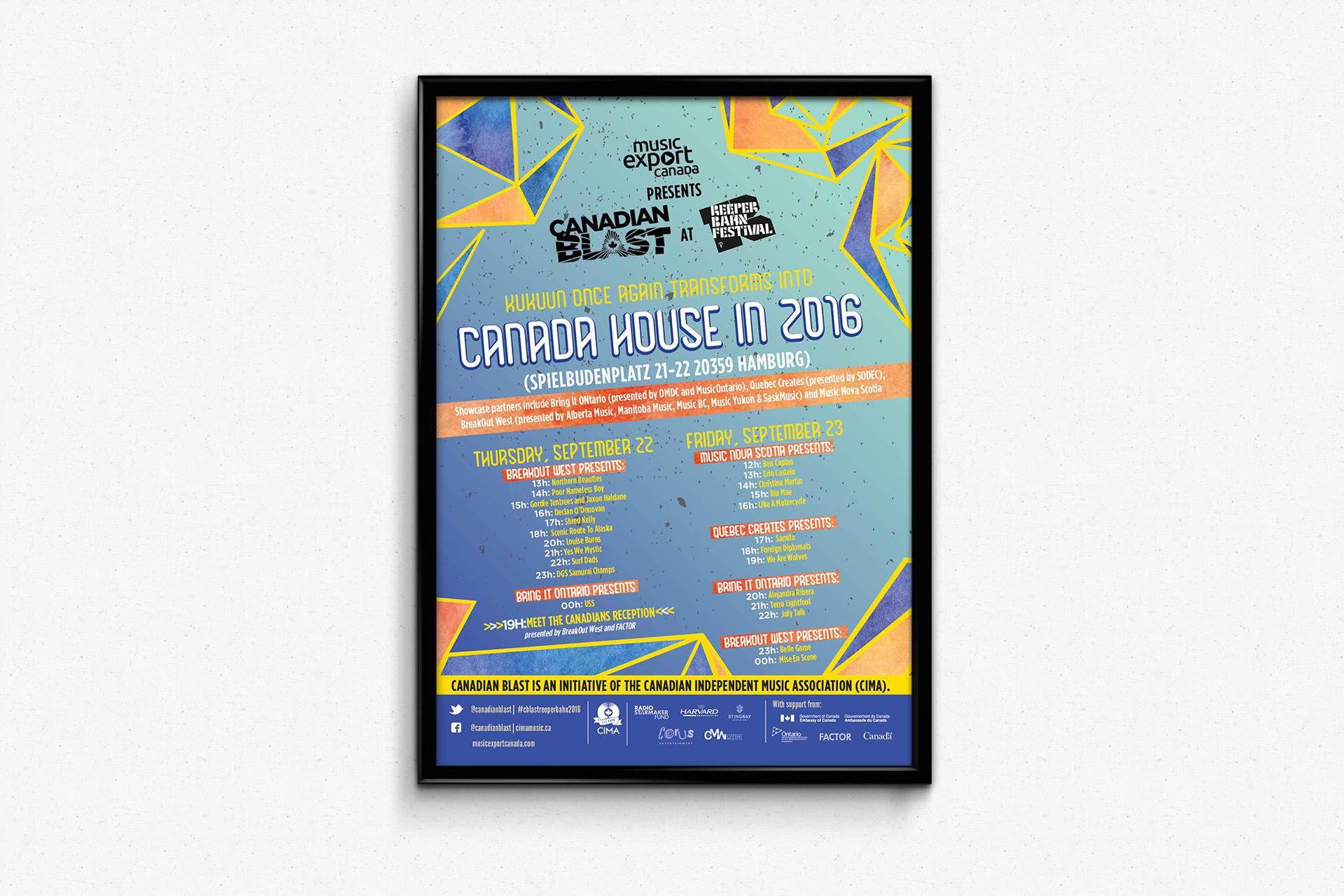 Canada House Reeperbahn Music Festival