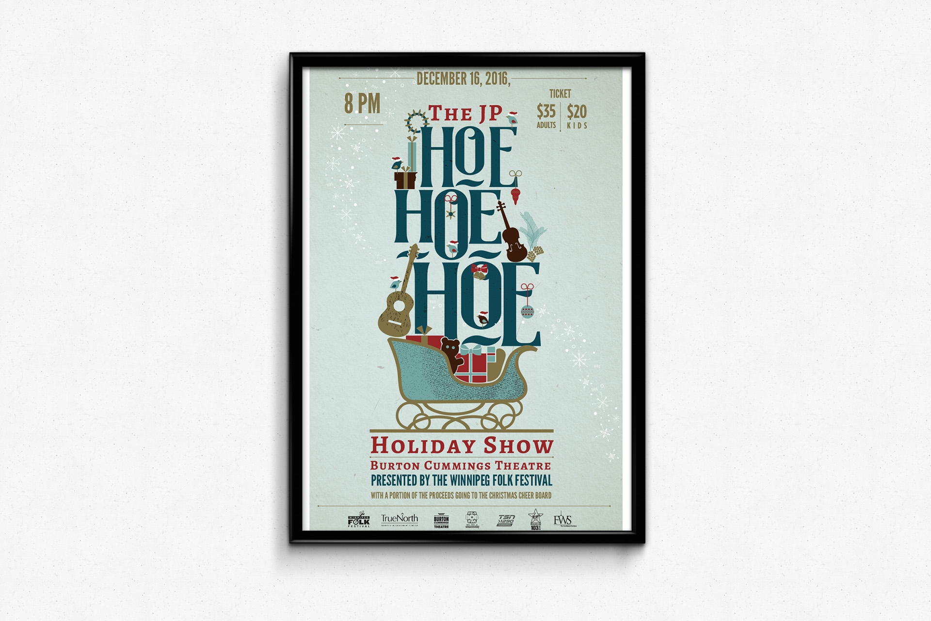 JP Hoe Hoe Hoe Holiday show!