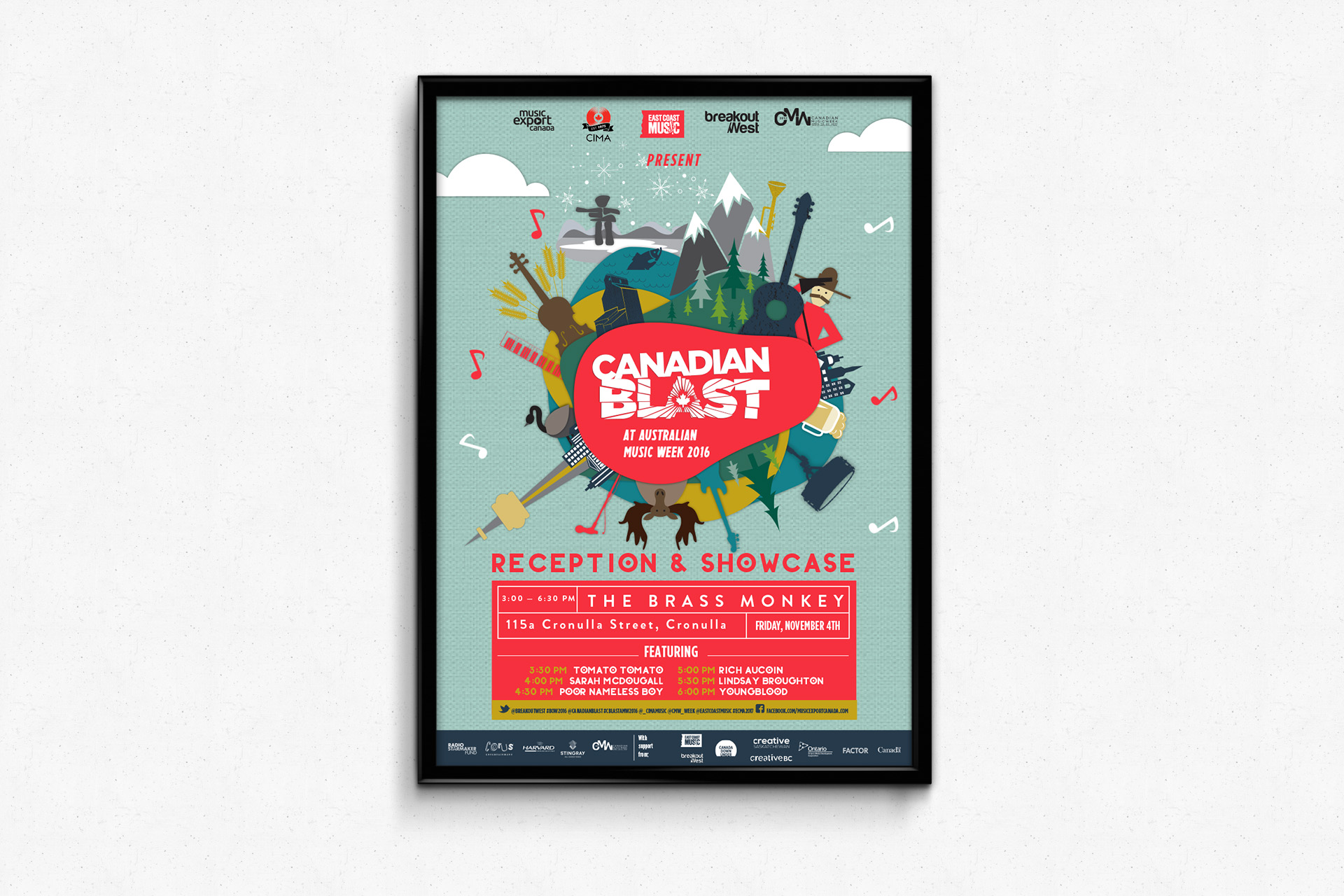 Canadian Blast at Australian Music Week