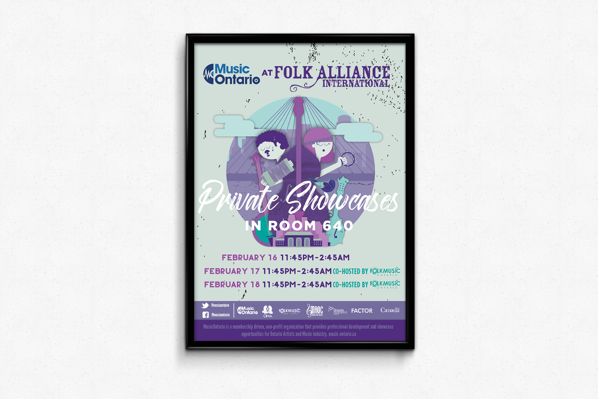 MusicOntario at Folk Alliance 2017
