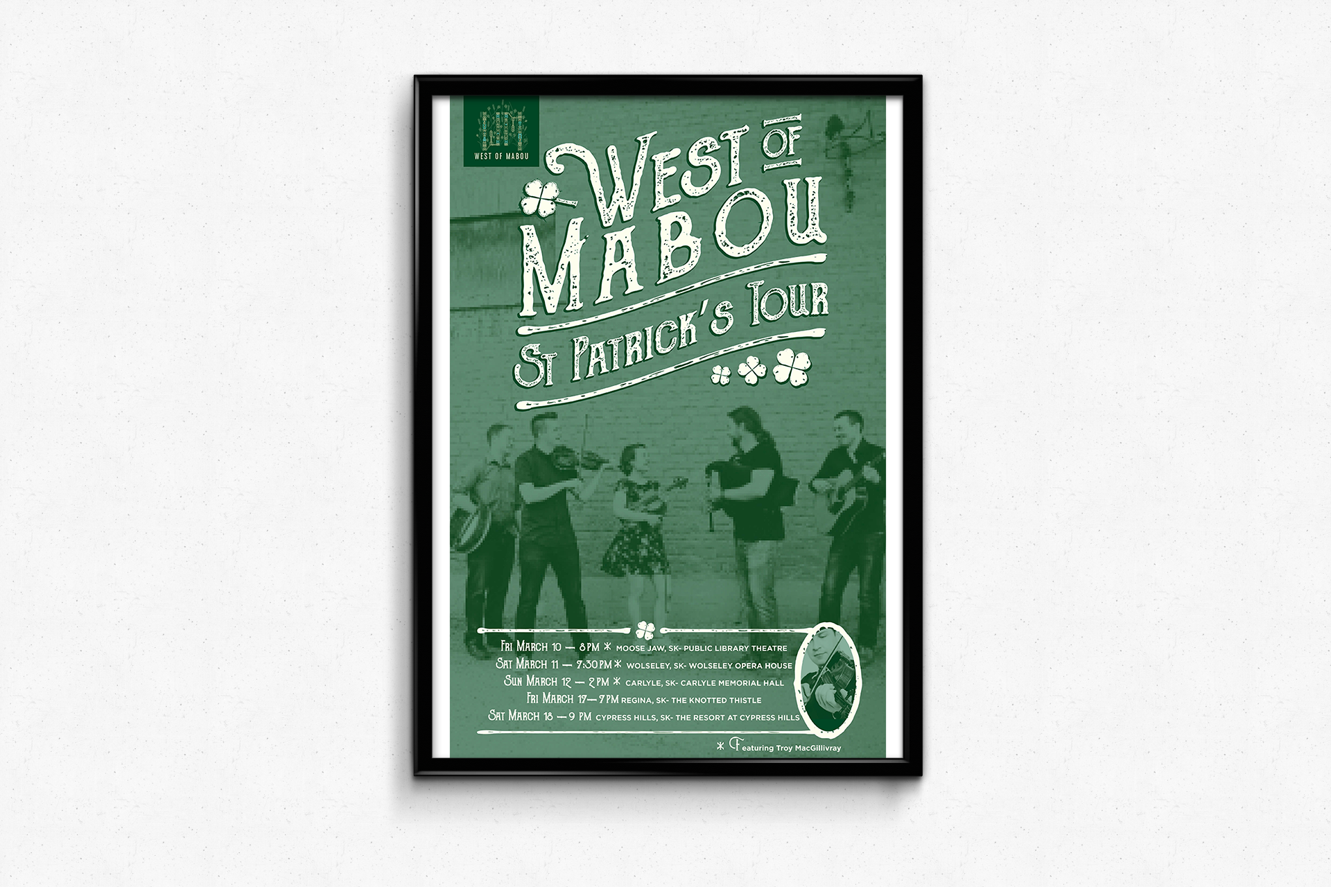 West Of Mabou — St. Patrick's Day Tour