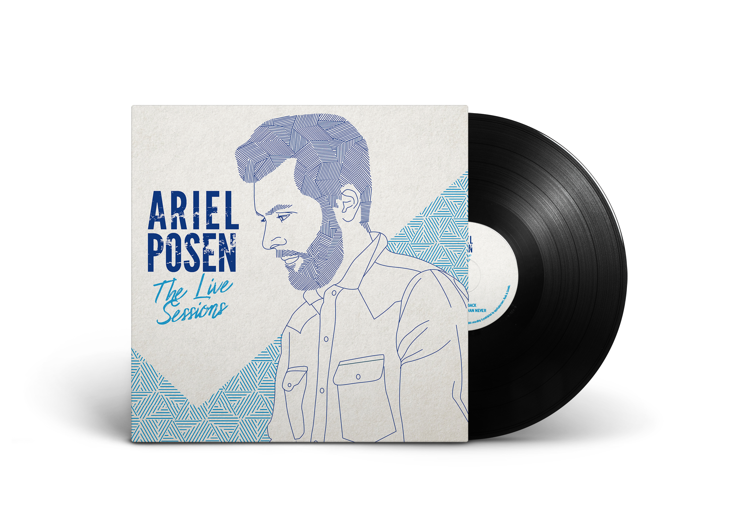 Ariel Posen — The Live Sessions LP